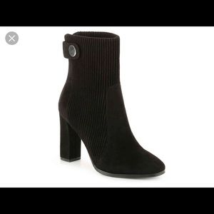 Impo black sweater top booties